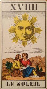 El sol del Tarot de Marsella