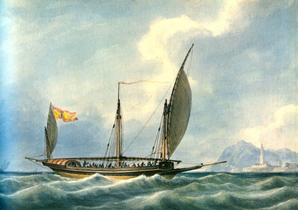 El falucho del capitán Miralles