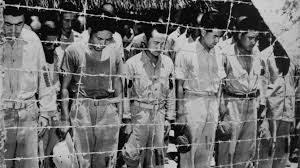 Prisioneros de guerra de los japoneses en la II guerra mundial